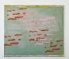 Siebdruck und Öl auf Leinwand, 140 x 160