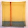 transparente Stoffe, genäht, 34 x 34 cm