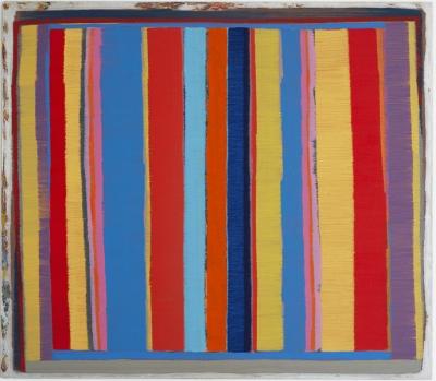 70 x 80 cm, Öl auf Metell